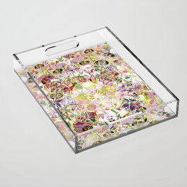 The Circle of Life Acrylic Tray