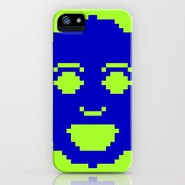 Pixel Face iPhone Case