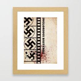 Inglorious basterds Framed Art Print