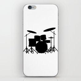 Drum Kit iPhone Skin
