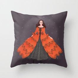 Christine Daae Throw Pillow