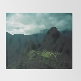 Machu Picchu NO3 Throw Blanket