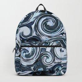Blue Swirls Backpack