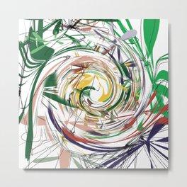 eye of hurricane Metal Print