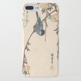 Blue Chickadee iPhone Case