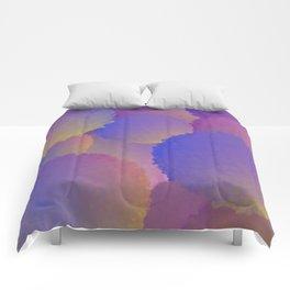 Purple Nuclear Fusion Comforters