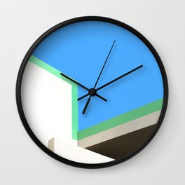 Roofline in Palm Springs Wall Clock