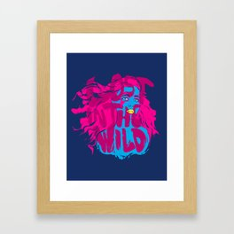 Lost in the Wild Framed Art Print
