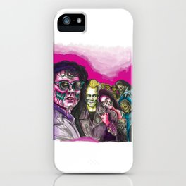 The Lost Zombie Boys iPhone Case