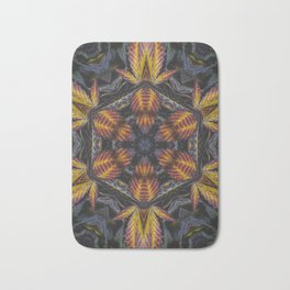 Hexagon Leaf Bath Mat