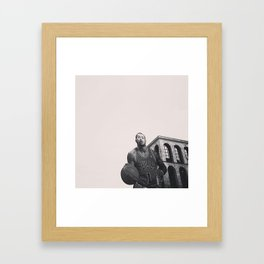 .idol's crisis. Framed Art Print