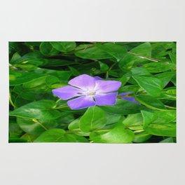 Violet Herbaceous Periwinkle Rug