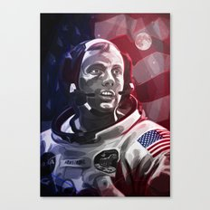 Neil Armstrong Canvas Print