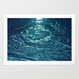 Gurgling Water Art Print