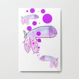 strange fish Metal Print