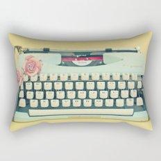 The Typewriter Rectangular Pillow