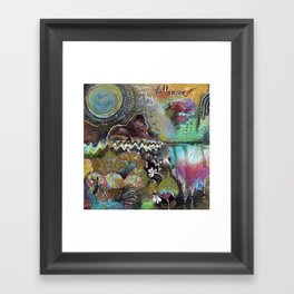 Full Moon River Framed Art Print