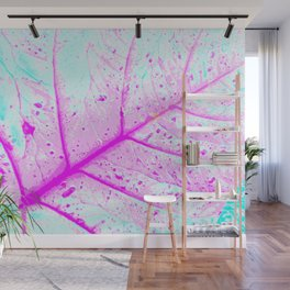 Abstract Tropical Leaf (Close Up) Wall Mural