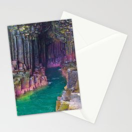 MOTHER NATURE-STUNNING SEA CAVE Stationery Cards