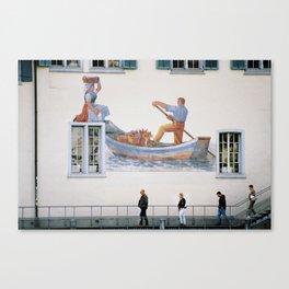 Zurich Truman Show Canvas Print