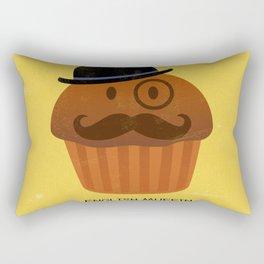 English Muffin Rectangular Pillow