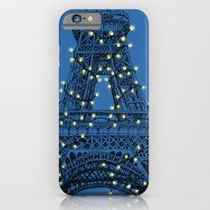 Paris Eiffel Tower Holiday Lights Slim Case iPhone 6s