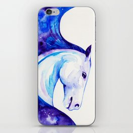 Galaxy Horse iPhone Skin