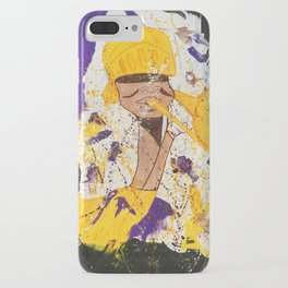 """""""I BLEED PURPLE AND GOLD"""" iPhone Case"""