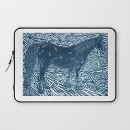 Abstract Silver by Robert S. Lee Laptop Sleeve