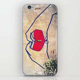 Love (edited) iPhone Skin