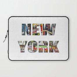 New York (typography) Laptop Sleeve