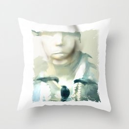 Victim Of The Heart Throw Pillow