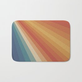 Retro 70s Sunrays Bath Mat