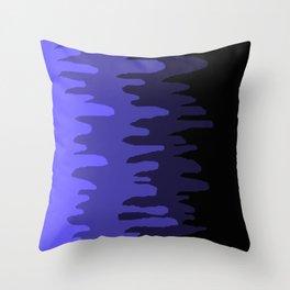 Splash of colour (blue) Throw Pillow