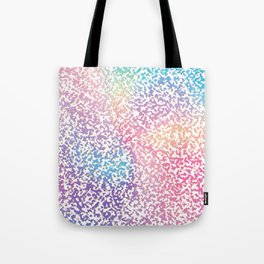 Abstract lavender pink ombre modern pattern Tote Bag