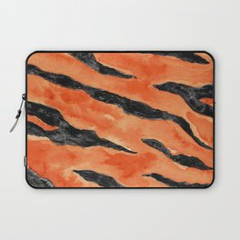 Tiger Stripes (Orange/Black) Laptop Sleeve