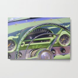 T-Bird Dash Metal Print