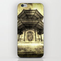 The Pagoda Battersea Park London Vintage iPhone & iPod Skin