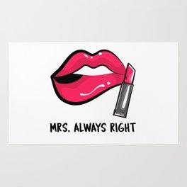 Mrs. Always Right Rug