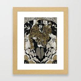 The tamer Framed Art Print