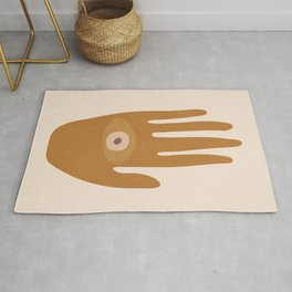 Hamsa Hand Rug