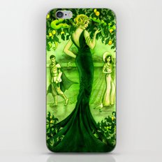 The Little Soldier, Ludovine, Green Fairy Book iPhone & iPod Skin