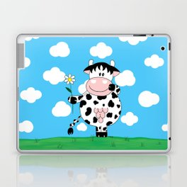 Cow Daisy Laptop & iPad Skin