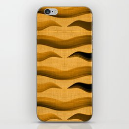 """""""Abstract Oriental Tiger"""" iPhone Skin"""