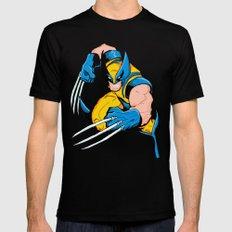 Wolverine Mens Fitted Tee Black MEDIUM
