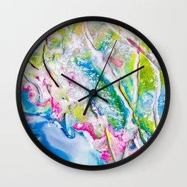 Abstract Melt II Wall Clock