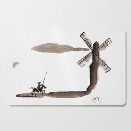 Don Quixote de la Mancha Cutting Board