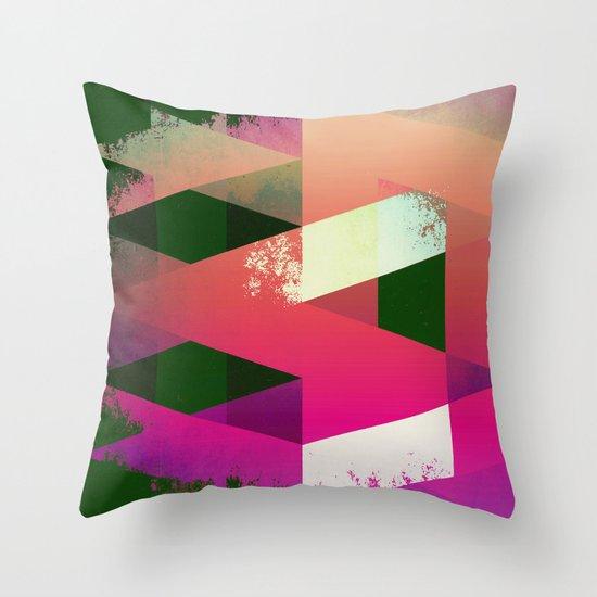 DESTRUCT.jpg Throw Pillow