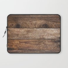 Vintage Wood Laptop Sleeve