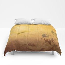 Golden Memories Comforters